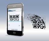 QR Code,Bar Code Reader,Coding,Retail,Mobile Phone,Marketing,Bar Code,Shopping,Camera - Photographic Equipment,Buying,Global Communications,Smart Phone,Telephone,Code Reader,Application Software,Data,Internet,Communication