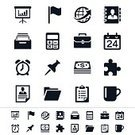 Symbol,Computer Icon,Clipboard,Calendar,Icon Set,Portfolio,Time,task,Coffee Cup,Filing Cabinet,Business,Flag,Application Form,Briefcase,Calculator,Presentation,US Paper Currency,One Dollar Bill,Jigsaw Piece,Vector,File,Projection Screen,Interface Icons,Globe - Man Made Object,Cabinet,Ring Binder,Cup,Thumbtack,Global Business,Sign,Address Book,Dollar,Clock,Tea Cup,vector icons,Dollar Sign