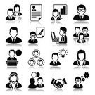 Symbol,People,Icon Set,Using Computer,Call Center,Occupation,Business,Computer,Resume,Avatar,Handshake,Businessman,Business Person,Businesswoman,Organization Chart,Innovation,Development,Solution,Fountain Pen,Manager,Teamwork,Secretary,Document,Black Color,Creativity,Presentation,Discussion,Set,Balance,Inspiration,Meeting,Gear