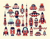 Rocket,Retro Revival,Space Travel Vehicle,Symbol,Fighter Plane,Space,Toy,Exploration,Spaceship,UFO,Airplane,Astronaut,Speed,Bomb,Ship,Taking Off,Isolated,Flame,Rocket Booster,Ilustration,Ignition,Red,Cute,Travel,Vector,Sputnik,Science,Aerospace Industry,Air Vehicle,Engine,Satellite,Cartoon,Blue,Weapon