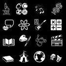 Symbol,Computer Icon,Education,Icon Set,Black Color,School Building,subject,University,Book,White,Sport,Set,Mathematics,Science,category,Mathematical Symbol,Microscope,Art,Series,Globe - Man Made Object,The Media,DNA,Vector,Biology,Guitar,History,Chemistry,Physics,ikon,Text,Physical Education,Film,Computer Graphic,Literature,Design Element,Ball,Paintbrush,Cartography,Simplicity,Talking,Gift,Physical Geography,Topography,Ilustration,Information Medium,Paint,Generic Location,Competition,Concepts,dings,Football Tennis,Arts And Entertainment,Illustrations And Vector Art,Medicine And Science,Music