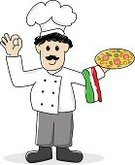 Vector,Characters,Men,Male,Ilustration,Meal,Service,White,People,Food,Professional Occupation,Chef,Business,Cheerful,Caricature,Chef's Hat,Food And Drink,Italian Culture,Mustache,Baker,Drawing - Art Product,Occupation,Happiness,Hat,Smiling,Cartoon,Cooking,Working,Refreshment,Pizza,Isolated