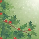 Christmas,Holly,Winter,Backgrounds,Snow,Tree,Holiday,Green Color,Leaf,Berry,Branch,Berry Fruit,Snowflake,Cheerful,Vector,Happiness,Swirl,Star - Space,Evergreen Tree,Plant,Lush Foliage,Ilustration,foliagé,Cold - Termperature,Light - Natural Phenomenon,Dried Food,Holidays And Celebrations,Plants,Nature,Illustrations And Vector Art,Christmas,Lightweight