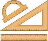 Drafting,Work Tool,Equipment,Triangle,Ruler,Instrument of Measurement,Wood - Material,Ilustration,Centimeter,Geometric Shape,Isolated,Protractor,Millimeter,Vector,Mathematics,Angle,Drawing - Art Product,Set,Education,Plastic,Measuring,Scale,Geometry