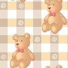 Teddy Bear,Picnic,Pattern,Repetition,Label,Backgrounds,Checked,Series,Rectangle,Cute,Bear,themed,kid's,templates,template,Toy,Material