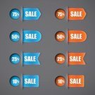 Vector,Text,Sale,Business,Design,Ribbon,Set,Modern,Design Element,Label,Group of Objects,Banner,Single Word,Price,Percentage Sign,Circle