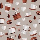 Coffee - Drink,Icon Set,Symbol,Coffee Pot,Pattern,Retro Revival,Food And Drink,Shape,Backgrounds,Elegance,Mug,Text,Hot Drink,Sign,Seed,Coffee Cup,Drink,Cup,Seamless,Vector,Typescript,Mill,Coffee Grinder,Coffee Bean