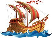 Ilustration,Sailing Ship,Old,Nautical Vessel,Galleon,Ship,Wave,Travel,Design,Cruise,Sailing,Yachting,Yacht,surge,Warship,Sail,Vector,Direction,Water,Sailboat,Mode of Transport,Sea,Nature,Journey,Adventure,Transportation,History