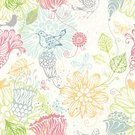 Doodle,Butterfly - Insect,Bird,Flower,Backgrounds,Pattern,Beauty In Nature,Seamless,Floral Pattern,Silhouette,Textured,Vector,Flying,Abstract,Retro Revival,Green Color,White,Plant,Swirl,Ilustration,White Background,Pink Color,Nature,Design Element,Blue,Season,Colors,Computer Graphic,Square,Design,Springtime,Leaf,Decoration,eps8,Scribble,Repetition,Insect,Tracery,Wallpaper Pattern,Set,Curve,Clip Art,Scroll Shape,Cartoon,Squiggle,No People,Summer,Ornate,Color Image