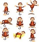 Ape,Monkey,Displeased,Anger,Furious,Sadness,Depression - Sadness,Sleeping,White Background,Facial Expression,Scratching,Cartoon,Playful,Jumping,Sitting,Lying Down,Smiling,Fun,Crying,Cheerful,Wildlife,Humor,Confusion,Branch,Ilustration,Drawing - Art Product,Isolated,Animal,Chimpanzee,Cute,Vector,Mammal,Modern,Happiness,Emotional Stress,Clip Art