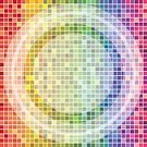 Pixelated,Pattern,Square Shape,Abstract,Textured Effect,Multi Colored,Backgrounds,Ilustration,Vector