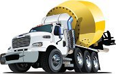 Concrete,Semi-Truck,Isolated,Cement,Truck,Land Vehicle,Driving,Cartoon,Car,Mode of Transport,Vector,Industry,Engineering,Factory,Transportation,Construction Machinery,Large,Steel,Machinery,Mixing,Humor,Construction Industry,Heavy,Equipment,Fun,Ilustration,Cute,Building - Activity,Traffic