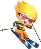 Skiing,Little Boys,Recreational Pursuit,Winter,Characters,Child,Leisure Activity,Enjoyment,Multi Colored,Childhood,Front View,Creativity,Color Image,Ski-Wear,Ski Goggles,Ski,Smiling,Headwear,One Person,Technology,White Background,Children Only,Skiing Helmet,Vector,One Little Boy,Action,Carefree,Clip Art,Cheerful,Full Length,Excitement,Ilustration