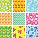 Tropical Climate,Beach,Pattern,Watermelon,Season,Design,Flower,Sea,Colors,Green Color,Color Swatch,Cheerful,Symbol,Ilustration,Floral Pattern,Vector,Collection,Abstract,Red,Seamless,Design Element,Happiness,Blue,Image,Fruit,Pink Color,Swatch,Single Flower,Vibrant Color,Summer,Water,Cherry,Backgrounds,Multi Colored,Cute,Set,Sunglasses,Lighthouse,Yellow