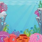 Backgrounds,Water,Undersea,Cartoon,Underwater,Coral,Sea Anemone,Plant,Reef,Ecosystem,Aquatic,Leaf,Design,Sea,Tropical Climate,Ilustration,Vector,Biodiversity,Growth,Shape,Environment,At The Bottom Of,Nature