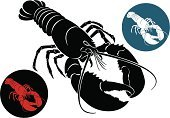 Lobster,Silhouette,Crayfish,Crayfish,Mollusk,Animal Shell,Animal,Claw,Crustacean,Prawn,Shrimp,Sea Life,Prepared Shrimp,Prepared Shellfish,Cancer,Cancer Cell