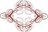 Vector,Decoration,Black Color,Red,Frame,Concepts And Ideas,Time,Design,Christmas Decoration,Ilustration,Pattern