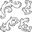 Design Element,Vector,Classical Style,Victorian Style,Swirl,Nostalgia,Shape,Baroque Style,Old,Decoration,Calligraphy,Ornate,Abstract,Certificate,Set,Frame,Computer Graphic,Vignette,Flower,Design,Classic,Flourish,Old-fashioned,Elegance,Antique,Architectural Revivalism,Retro Revival,Deco,Collection