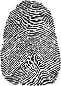 Fingerprint,Thumbprint,Law,Stealing,Control,Detective,Individuality,Identity,People,Silhouette,Pattern,Imitation,Police Force,Thumb,Forensic Science,Human Finger,Privacy,Backgrounds,Safety,White,Biometrics,Secrecy,Ink,Human Hand,Macro,Ilustration,Vector,Black Color,Advice,Security,Crime,Isolated,Track,Criminal,Design,Cut Out,Thief,Print