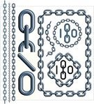 Chain,Circle,Vector,Metal,Steel,Link,Connection,Equipment,Iron - Metal,Metallic,Industry,interlink,Ilustration,Computer Graphic,Chrome,No People,Strength,Concepts And Ideas,Digitally Generated Image,Objects/Equipment,Large Group of Objects,Stainless Steel,Color Image