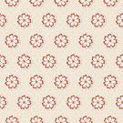 Flower Head,Nature,Leaf,Plant,tile-able,rerto,Pattern,Red,Beige,Abstract,Petal,Repetition,Backgrounds,Ilustration
