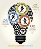 Infographic,Gear,Light Bulb,Teamwork,People,Abstract,Team,Business,Order,Vector,Ideas,Backgrounds,Industry,Finance,Arrow Symbol,Concepts,Engineering,Symbol,Computer Graphic,Machine Part,Plan,Computer Icon,Technology,Sign,Data,Pattern,Modern,Communication,Ilustration,Success,Machinery,template,Set,Information Medium,Electric Lamp,Connection,Number,Design,Turning,Businessman,Connect,Chart