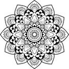 Mandala,Henna Tattoo,Pattern,Circle,Tattoo,Frame,Outline,Design,filigree,Vector,Textile,Sewing Pattern,Pen And Ink,Backgrounds,seamless texture,Single Flower,Swirl,Geometric Shape,Ilustration,seamless pattern,Growth,Elegance,Design Element,Computer Graphic,Floral Pattern,Decoration,Symbol,rangoli,Seamless Design