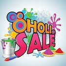 Red,Multi Colored,Scale,Backgrounds,Cultures,Business,Advertisement,India,Retail,Computer Graphic,Giving,Vector,Holi,Season,Marketing,Single Object,Selling,Ilustration,Celebration,Pichkari