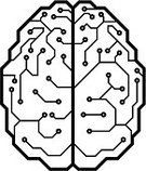 Human Brain,Circuit Board,Nerve Cell,Vector,Cyborg,Computer Chip,Mother Board,Symbol,Directly Above,Technology,Electrical Component,Intelligence,Science,Backgrounds,Memories,Electronics Industry,Inspiration,informatics,Ideas,Black And White,eps8,Shape,Thinking,Creativity,Inside Of,cybernetic,Modern,Artificial,bionic,Science and Technology,Futuristic,Cyberspace,Nerve Fiber,Close-up,Computer Part,No People
