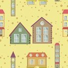 Backgrounds,Effortless,Textile,Grass,Ilustration,City,Residential Structure,Vector,Direction,Architecture,House,Street,Tower,Apartment,Window,Image,Season,Dirt,Wallpaper