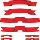 Ribbon,Red,Sash,Cordon Tape,Pennant,Christmas Decoration,Banner,Decoration,Art,Concepts,Simplicity,Image,Drawing - Art Product,Striped,Gold Colored,Design Element,Collection,Scroll,Art Product,Computer Graphic,Curve,Colors,Group of Objects,Celebration,Ilustration,Clip Art,Vector,Elegance,template,Design,Composition,Shape,Set