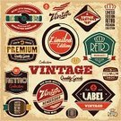 Retro Revival,Old-fashioned,Sign,Label,Badge,Seal - Stamp,Obsolete,Eagle - Bird,Candid,Certificate,Record,Security,Vector,Symbol,Frame,Computer Graphic,Internet,Business,Awe,Backgrounds,Craft,Pattern,warranty,Postage Stamp,Sale,Banner,Store,Insignia,Crown,Grunge,Success,High Up,Design,Ribbon,premium,Black Color,Trading,New,Satisfaction,Elegance,Set,Limited Edition,Isolated,Style,Hundred Percent