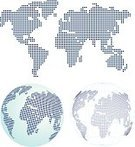 Globe - Man Made Object,Planet - Space,Spotted,World Map,Sphere,Earth,countries,Map,Square,Square Shape,Vector,Land,Business Travel,White Background,Travel,Physical Geography
