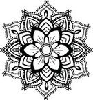 Henna Tattoo,Pattern,rangoli,Circle,Design,Frame,Floral Pattern,Mandala,Geometric Shape,Growth,Vector,Single Flower,Textile,Ilustration,Swirl,Outline,Tattoo,seamless pattern,Sewing Pattern,Computer Graphic,seamless texture,Decoration,Seamless Design,Symbol,filigree,Backgrounds,Elegance,Design Element,Pen And Ink