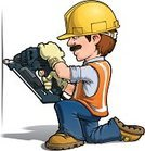 Mechanic,Repairman,Power Tool,Construction Worker,Cartoon,Hardhat,Mascot,Work Tool,Manual Worker,Avatar,Construction Industry,Isolated,Protective Glove,Uniform,Staring,Reflective Clothing,Ilustration,Wall,Smiling,Nail,Working,Repairing,Humor,Equipment,Drywall,Kneeling,Home Addition,Work Glove,Home Improvement,Tool Belt,Making,Building - Activity,nail gun,Suspenders,Occupation,Cheerful,Happiness,Safety,Men