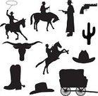 Cowboy,Wild West,Cowboy Hat,Silhouette,Horse,Covered Wagon,Texas Longhorn Cattle,Cactus,Horse Cart,Boot,Gun,Bull - Animal,Vector,Rope,Cartoon,Carriage,Back Lit,Handgun,Cattle,Outline,Ilustration,Design Element,Men,Clip Art,Design,People,Black Color,Weapon,Isolated,Sketch,Digitally Generated Image,Male,Isolated On White,Large Group of Objects,White Background,Cut Out,Illustrations And Vector Art,Fashion,Beauty And Health,Adult,Digital Composite,odltimer