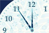 New Year's Eve,Clock,Midnight,Winter,New Year's Day,12 O'Clock,Holiday,Clock Face,Number 12,Drawing - Art Product,Snowflake,Number,Time,New Year,happy holiday,Decoration,Design,Beauty And Health,Fashion,Backgrounds,Pencil Drawing,Vector,Ilustration,Minute Hand