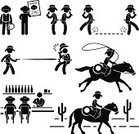 Cowboy,Silhouette,Bar - Drink Establishment,Vector,Bartender,Computer Icon,Symbol,Wild West,Rodeo,Men,Retro Revival,Lasso,People,Horse,Murderer,Whiskey,Gangster,Danger,Clothing,Handgun,Gang Member,Injecting,Horseback Riding,Horse Herder,Incentive,Poster,Cultures,Aggression,Fashion,Riding,Sign,Rebellion,Activity,Gun,Weapon,Desire,Placard,Shooting,The Human Body,Saddle,Criminal,Rivalry,Banner,One Person