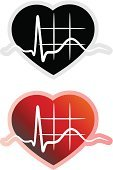 Pulse Trace,Pulsating,Healthcare And Medicine,Vitality,Heart Shape,Blood Pressure Gauge,Human Heart,Wave Pattern,Ilustration,Vector,Radio Wave,Medicine And Science,Cardiologist,healthy heart,Symbol,Biological Process,Stability,Chart,Clip Art,Illustrations And Vector Art,Doctor,Cardiac Conduction System,Medical Record,Examining,Healthy Lifestyle,Taking Pulse