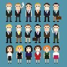 Pixelated,People,Friendship,Characters,Secretary,Team,Cartoon,Teamwork,Smoking,Computer Graphic,Group Of People,Young Adult,One Person,Funky,Cool,Square Shape,Image,Business,pixel art,Occupation,Office Interior,Male,Men,Female,Vector,Bossy,Cigarette,Foreman,Black Color,Square,Human Hair,Congratulating,Business Relationship,Manager,Corporate Business,Contract,Shaking,Isolated