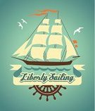 Sailing,Nautical Vessel,Sail,Sign,Sailing Ship,Sailboat,Sea,Equipment,Old-fashioned,Retro Revival,Wave,Silhouette,Ilustration,Backgrounds,Ribbon,Vector,Sport,Paper,Wheel,Symbol,Mode of Transport,Freedom,Direction,Computer Graphic,Shape,Travel,Painted Image,Placard,Icon Set,Decoration,Blue,Design,Helm,1940-1980 Retro-Styled Imagery,Transportation,Journey,imagery,Obsolete,Banner,Alphabet,Turquoise,Water,Cartoon,Yacht,Cruise,template