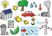 Solar Panel,Nature,Tree,Air Pollution,Ideas,Sun,Energy,Garbage Can,Light Bulb,Solar Power Station,Water,Concepts,Ilustration,Garbage,Organic,Car,Battery,Cartoon,Design,Factory,Wastepaper Basket,Symbol,Collection,Fuel and Power Generation,Set,Environment,Leaf,Flower,Environmental Conservation,Green Color,Power,Comic Book,Drawing - Activity,Wind Turbine,Biology,Wind,Vector,Water Pollution,Recycling,Single Flower,Pollution,Power Line,Wind Power,House,Alternative Energy,Sign,Electricity