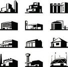Computer Icon,Station,Shopping Mall,Office Building,Stadium,Urban Skyline,Pipeline,Skyscraper,Warehouse,Gas Station,Airport,Factory,Residential District,Built Structure,Cityscape,Urban Scene,Vector,Construction Industry,House,Building Exterior,Design,Textile,Business,Modern,Architecture,Ilustration,Residential Structure,Engineering,Industry,Development,Set,City