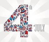 Fourth of July,Backgrounds,Cheerful,Happiness,Independence Day,Retro Revival,Patriotism