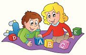Clip Art,Little Boys,Vector,Child,Playing,Childhood,Ilustration,Toy Block,Happiness,Fun,Learning,Computer Graphic,Isolated,Looking,Toy,Design,People,Small,Alphabet,Activity,Drawing - Art Product,educative,Education,Little Girls,Brick,Art,Cartoon,Smiling