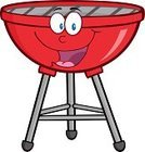 Barbecue Grill,Vector,Image,Mascot,Ilustration,Cartoon,Color Image,Single Object,Cheerful,Vector Cartoons,Clip Art,Paintings,Characters,Painted Image,Joy,Design,Isolated On White,Illustrations And Vector Art,Digitally Generated Image,Multi Colored,Computer Graphic,Happiness,Humor,Smiling