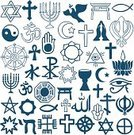 Religion,Spirituality,Variation,Symbol,East Asian Culture,occident,Islam,Sikhism,Menorah,Cultures,Human Eye,Symbols Of Peace,Set,Christianity,Candle,Last Supper,Cross,Arabia,Human Hand,Star Shape,Buddhism,Dove - Bird,Yin Yang Symbol,Jainism,Japanese Culture,Lotus Water Lily,Praying,Moon,Olive Branch,Unity,lamaism,Judaism,Wineglass
