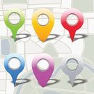 Internet,Thumbtack,Global Positioning System,Sign,White Background,Blue,Cartography,Vector,Direction,Travel,Interface Icons,Map Marker,Pointer Stick,Map Pin,Isolated,Design,Distance Marker,Map,Isolated On White,Circle,Yellow,Computer Icon,Pointing,Illustrations And Vector Art,Label,Red,Gray,Set,Web Element,Design Element,Colors,Green Color,Distance Sign