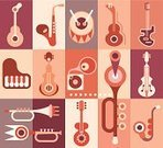 Jazz,Piano,Piano Key,Drum,Orchestra,Abstract,Musical Instrument,Saxophone,Vector,Violin,Composer,Guitar,Design,Music,Art,Musical Conductor,Popular Music Concert,Trumpet,Musical Band,Classical Concert,Party - Social Event,Percussion Instrument,Gramophone,Viola - Musical Instrument,Wallpaper,Music Festival,Music Background,vector icon