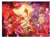 Nightclub,Disco Dancing,Copy Space,Party - Social Event,Gold,Disco,Shiny,Backgrounds,Bright,Vibrant Color,Entertainment,Transparent,Star Shape,Dancing,Multi Colored,Horizontal,Particle,Gold Colored,Celebrities,Defocused,Light - Natural Phenomenon,Eps10,Dance And Electronic,Vector,Nightlife,Glowing,Lighting Equipment